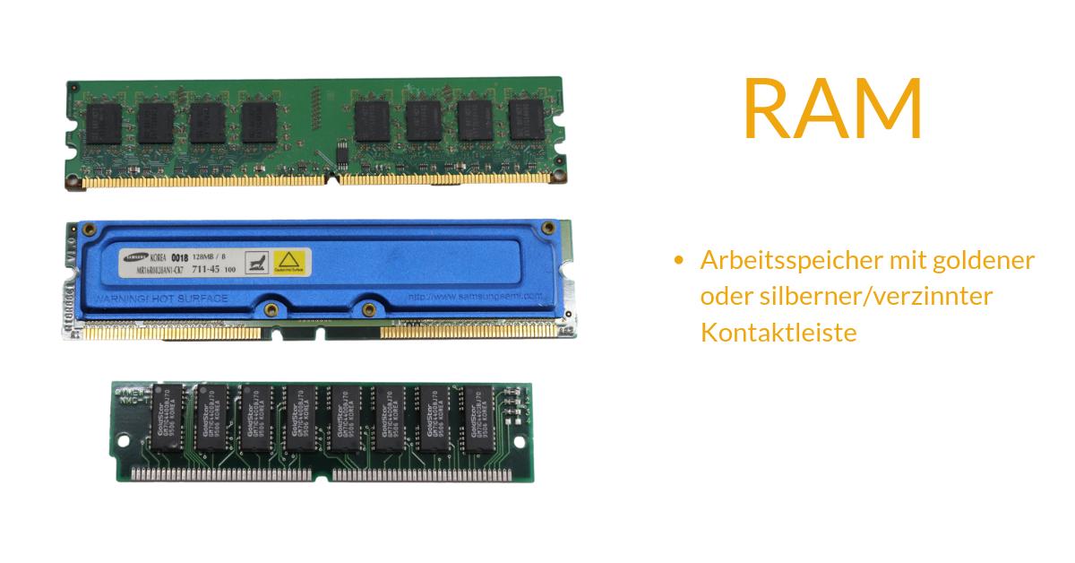 Was sind RAMs?